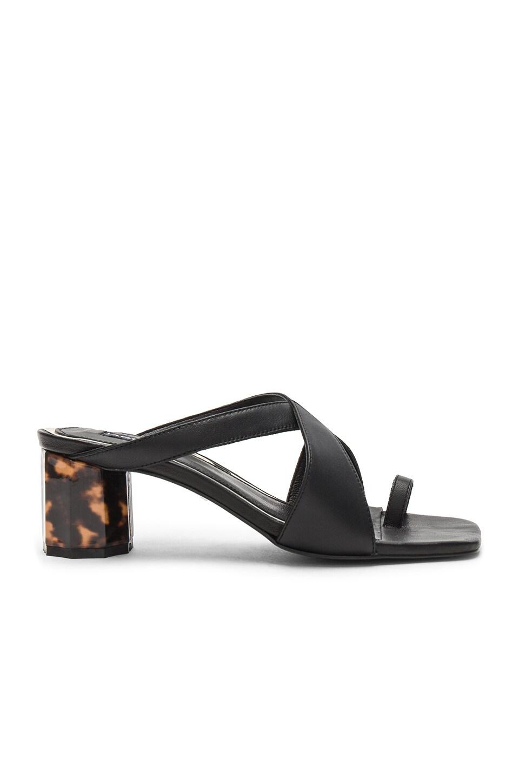 Tortoise Heel Sandal