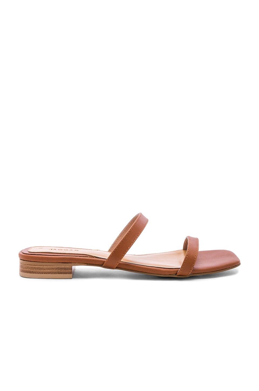 JAGGAR Sprung Sandal in Rust