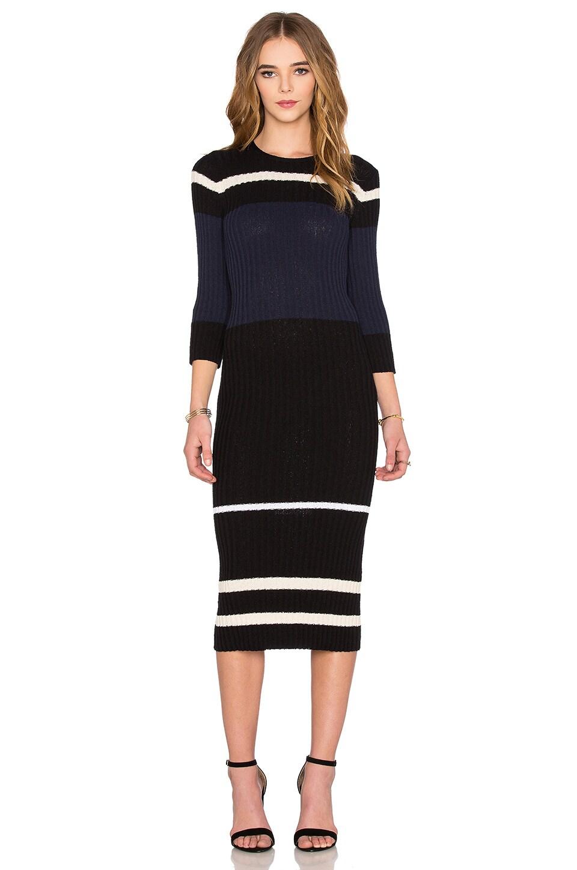 Cotton Terry Stripe Dress