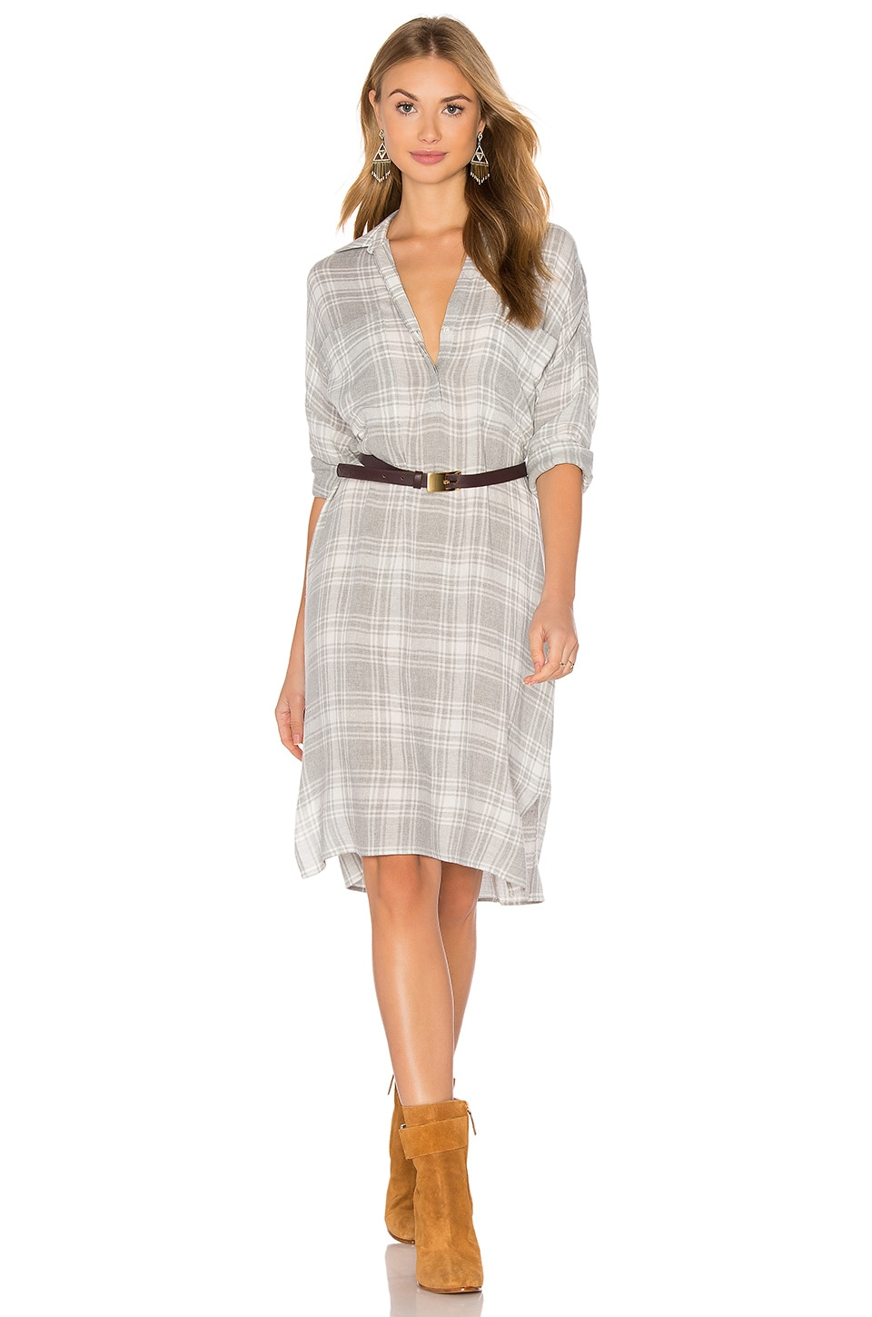 Oversized Shirt Dress by James Perse