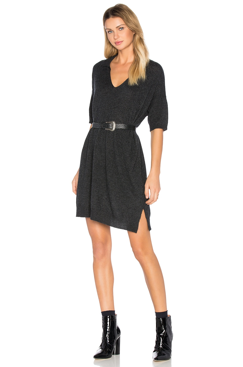 buy Cashmere Polo Dress by James Perse dresses online shopping
