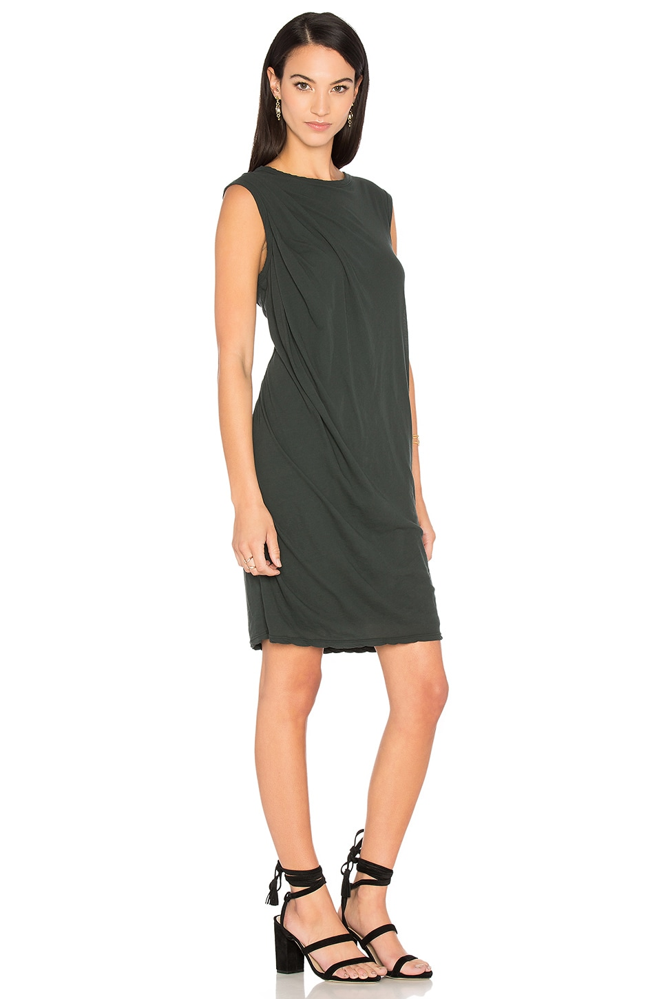 Tucked Shift Dress by James Perse
