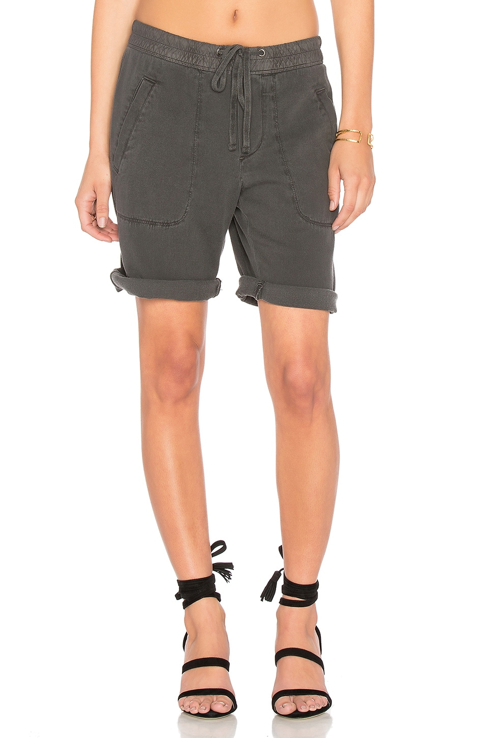 Super Soft Twill Utility Short by James Perse