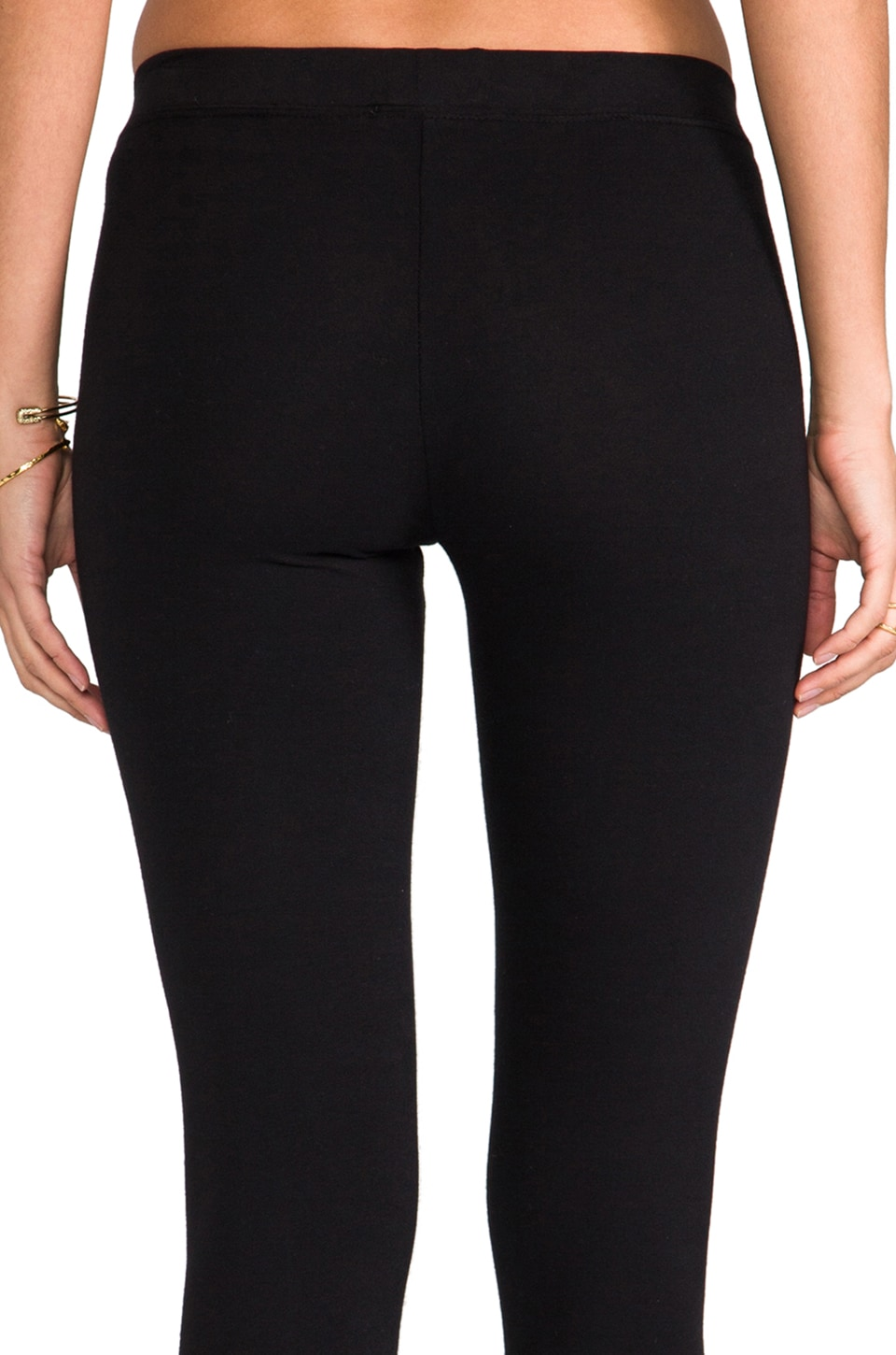 James Perse Long Legging in Black