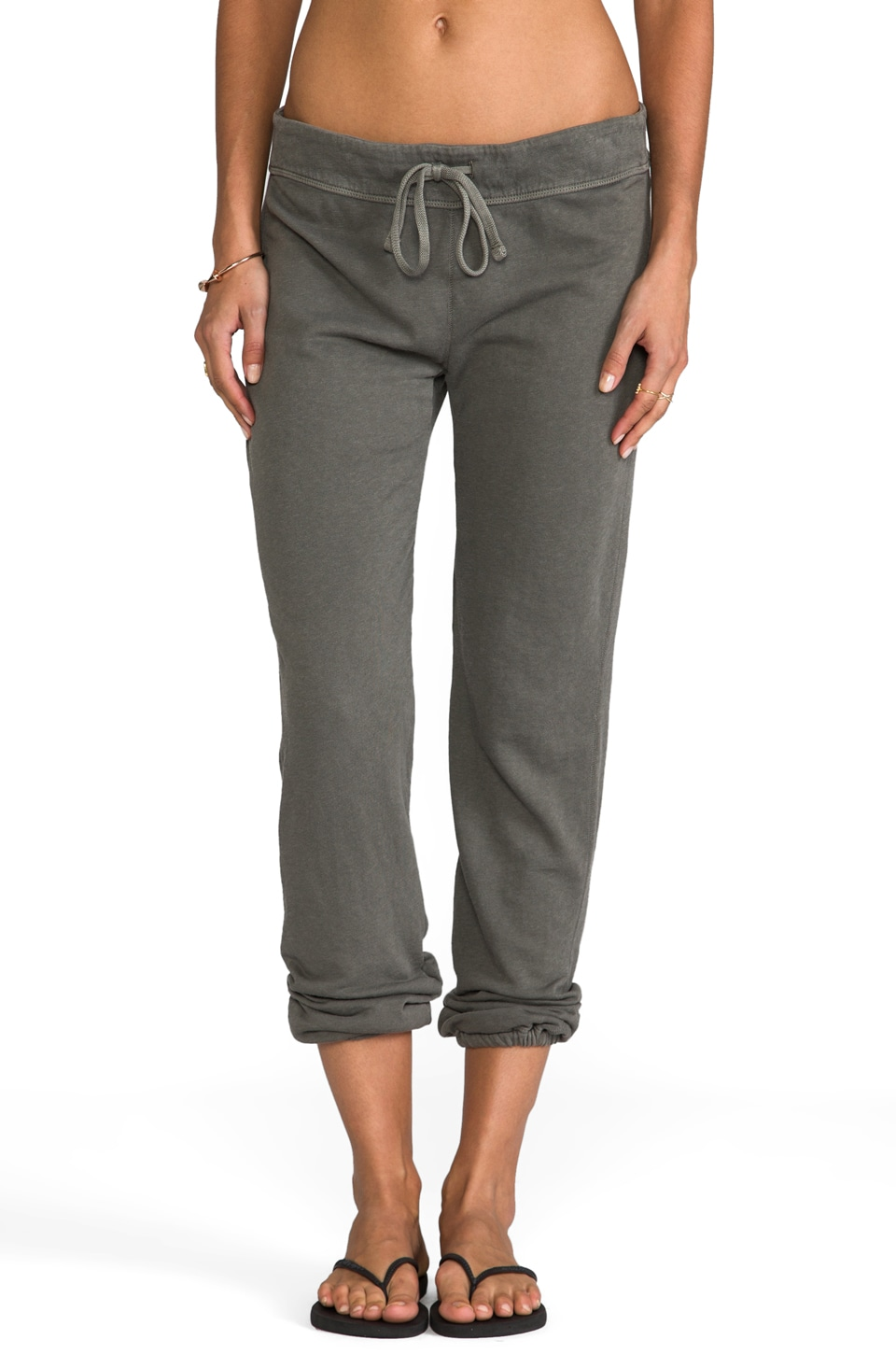 James Perse Vintage Cotton Genie Pant in Spruce