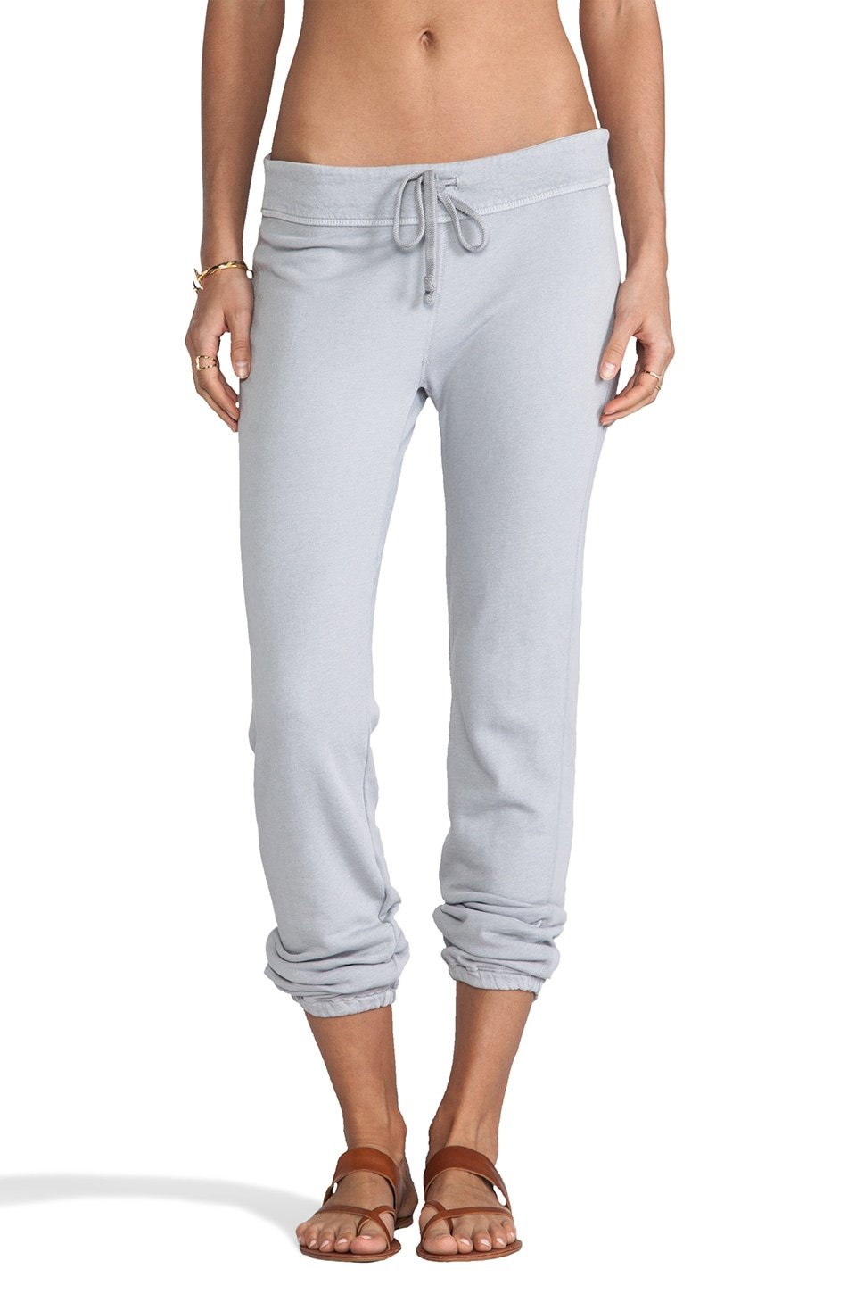 James Perse Genie Sweat Pant in Fog