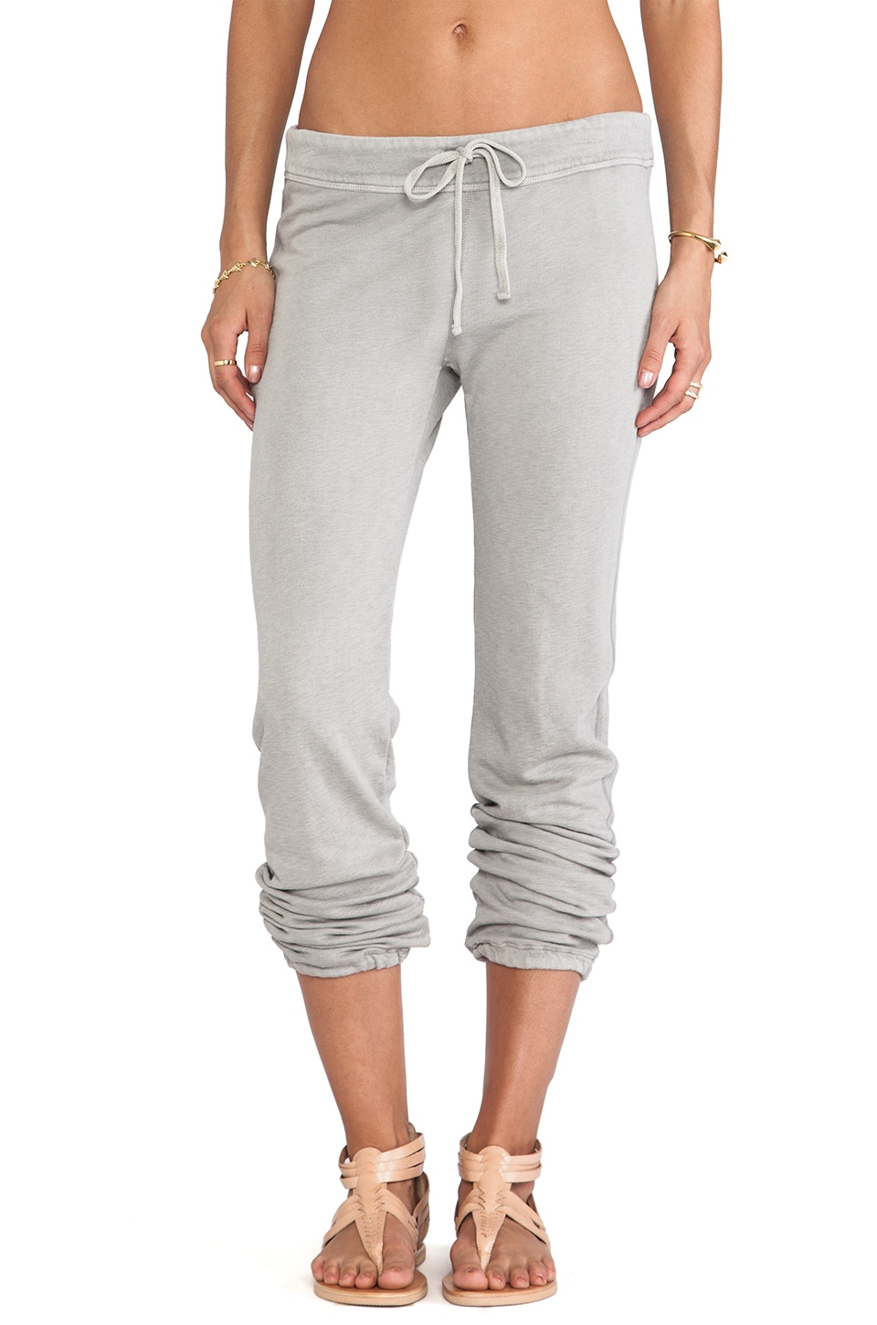 James Perse Genie Sweat Pant in Shadow