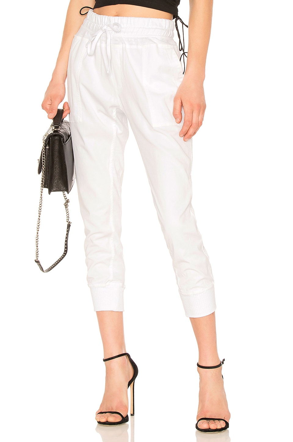Contrast Cotton Pant