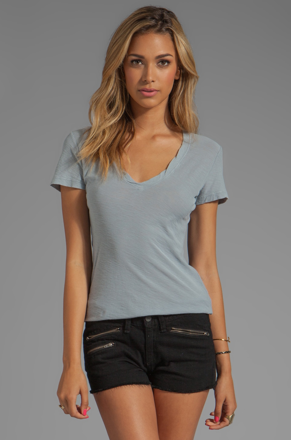 James Perse Casual Tee in Ore
