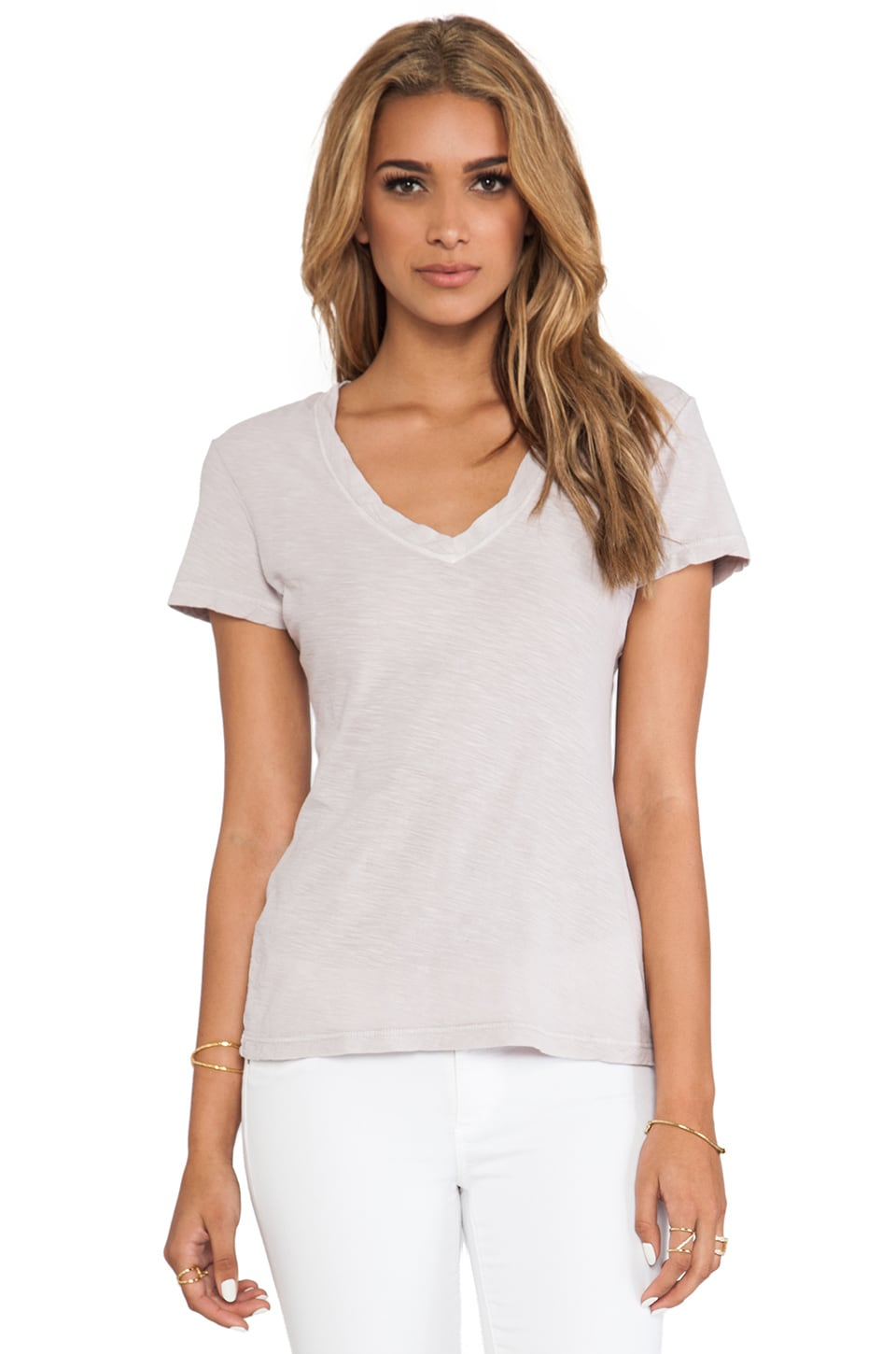 James Perse Casual Tee in Halite