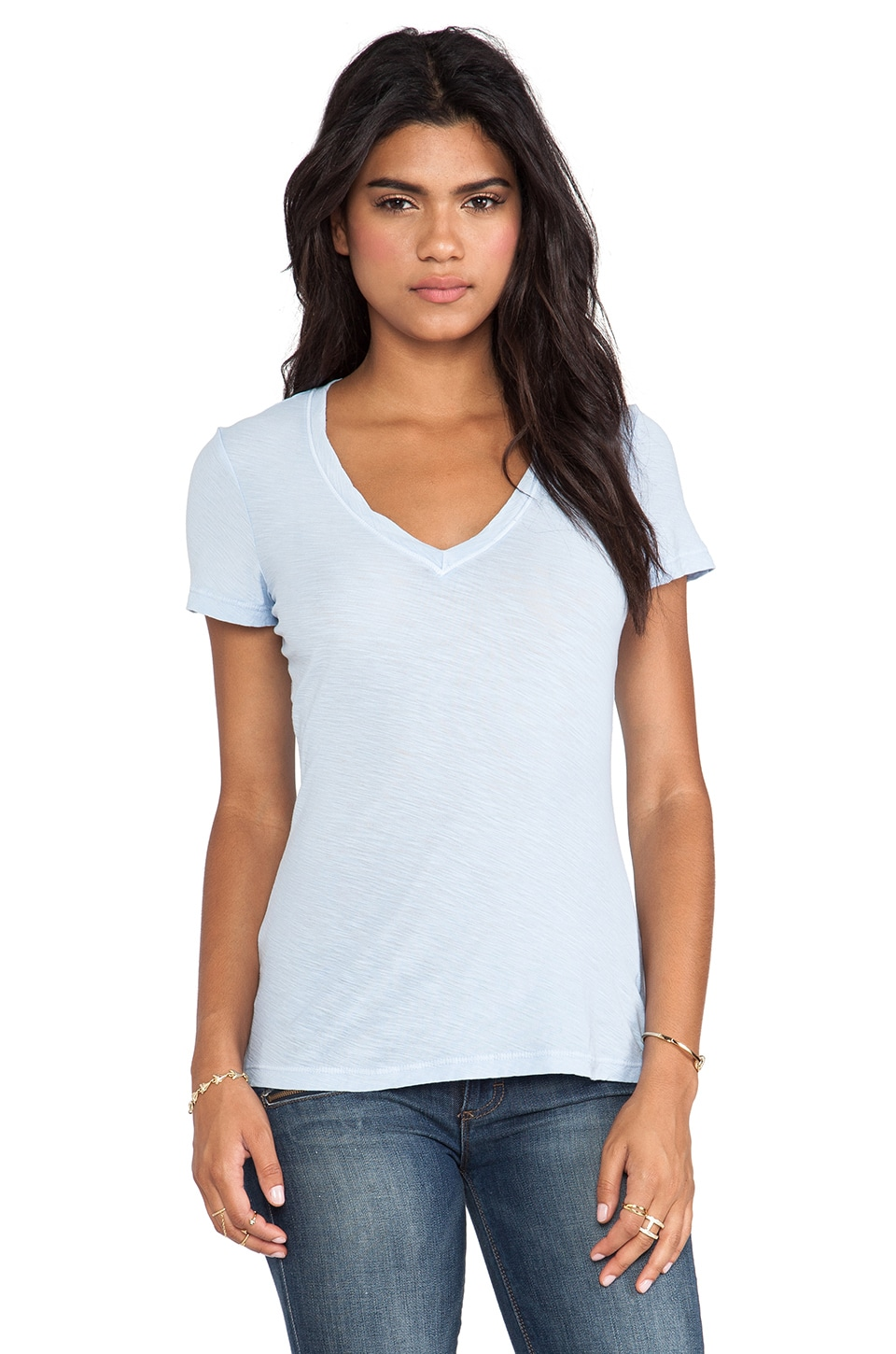 James Perse Casual Tee in Open Sky