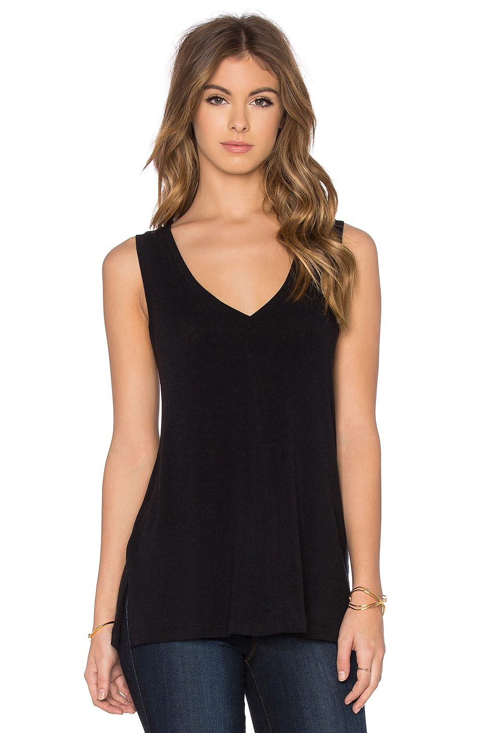 A-Line Viscose Blend Tank by James Perse