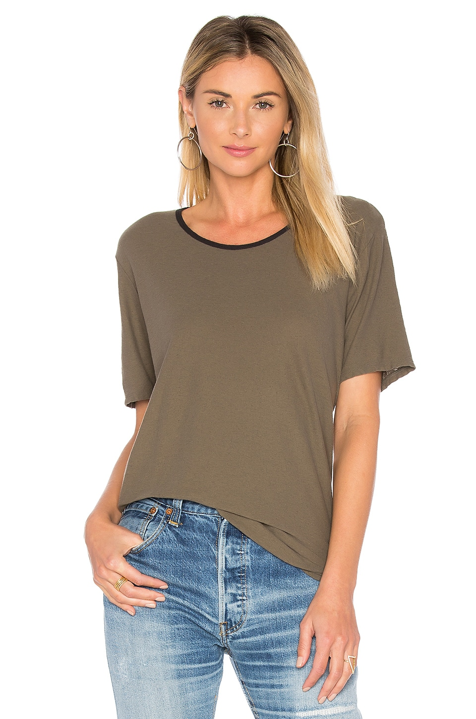 Relaxed Ringer Tee by James Perse