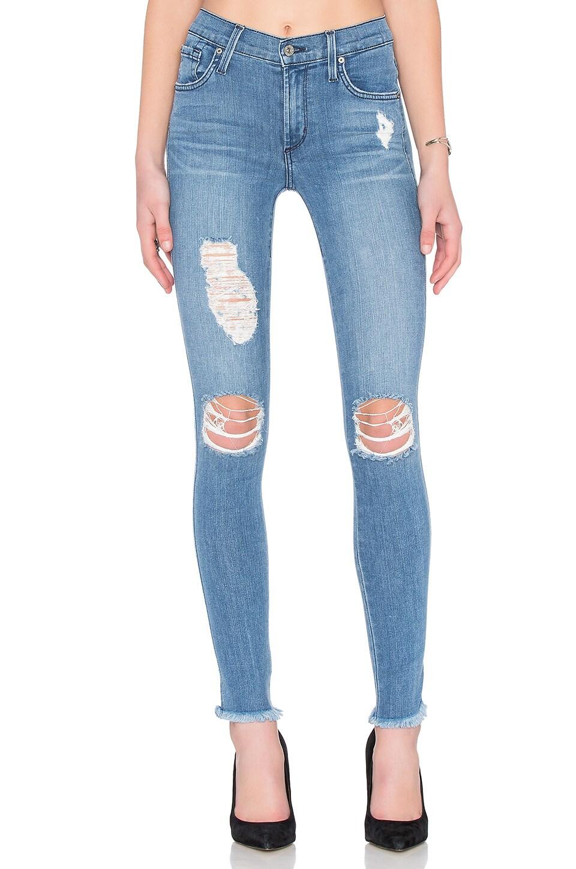 James Jeans James Twiggy 5 Pocket Legging in Splash