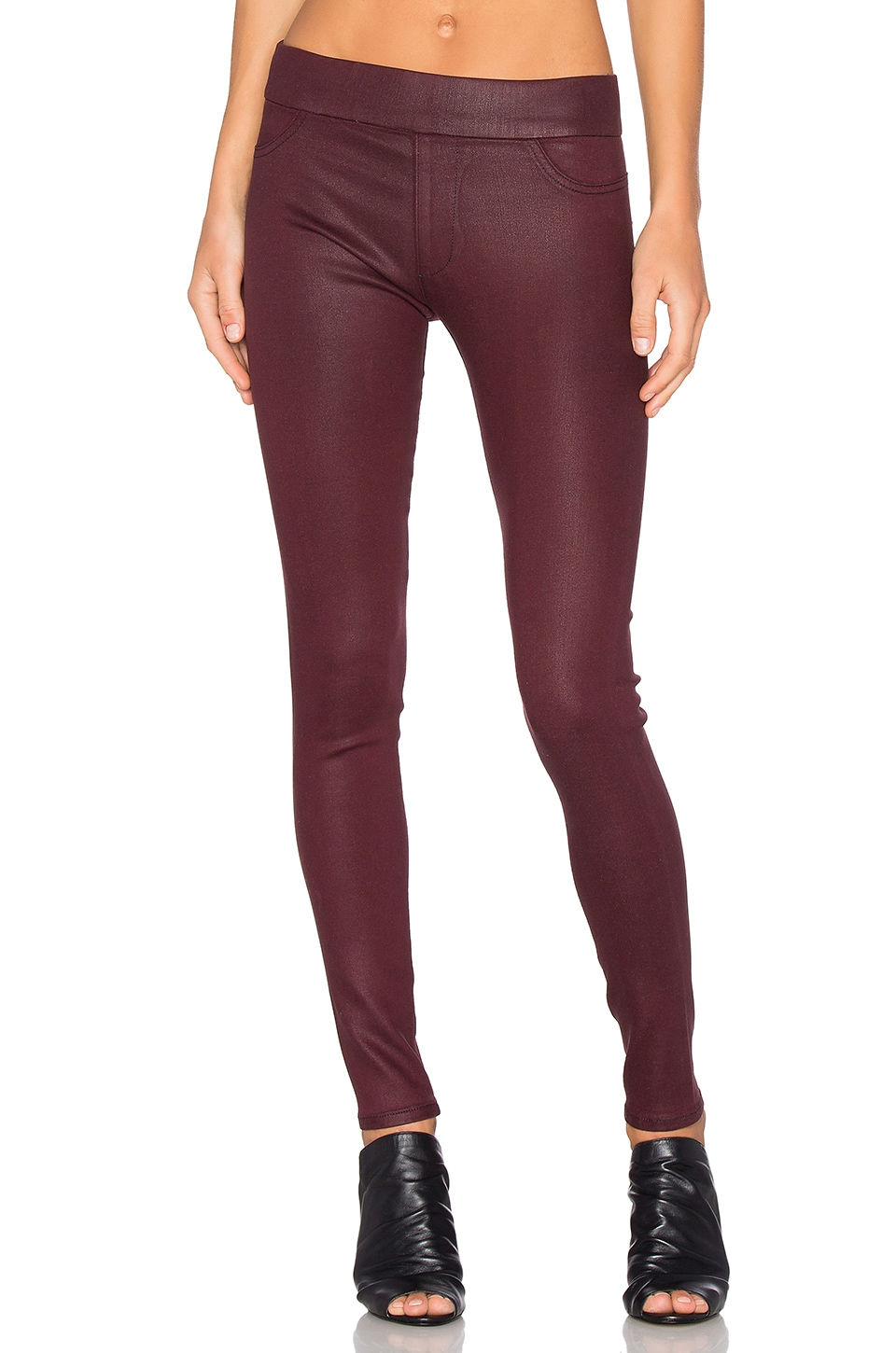 Twiggy Slip On Coated Legging by James Jeans