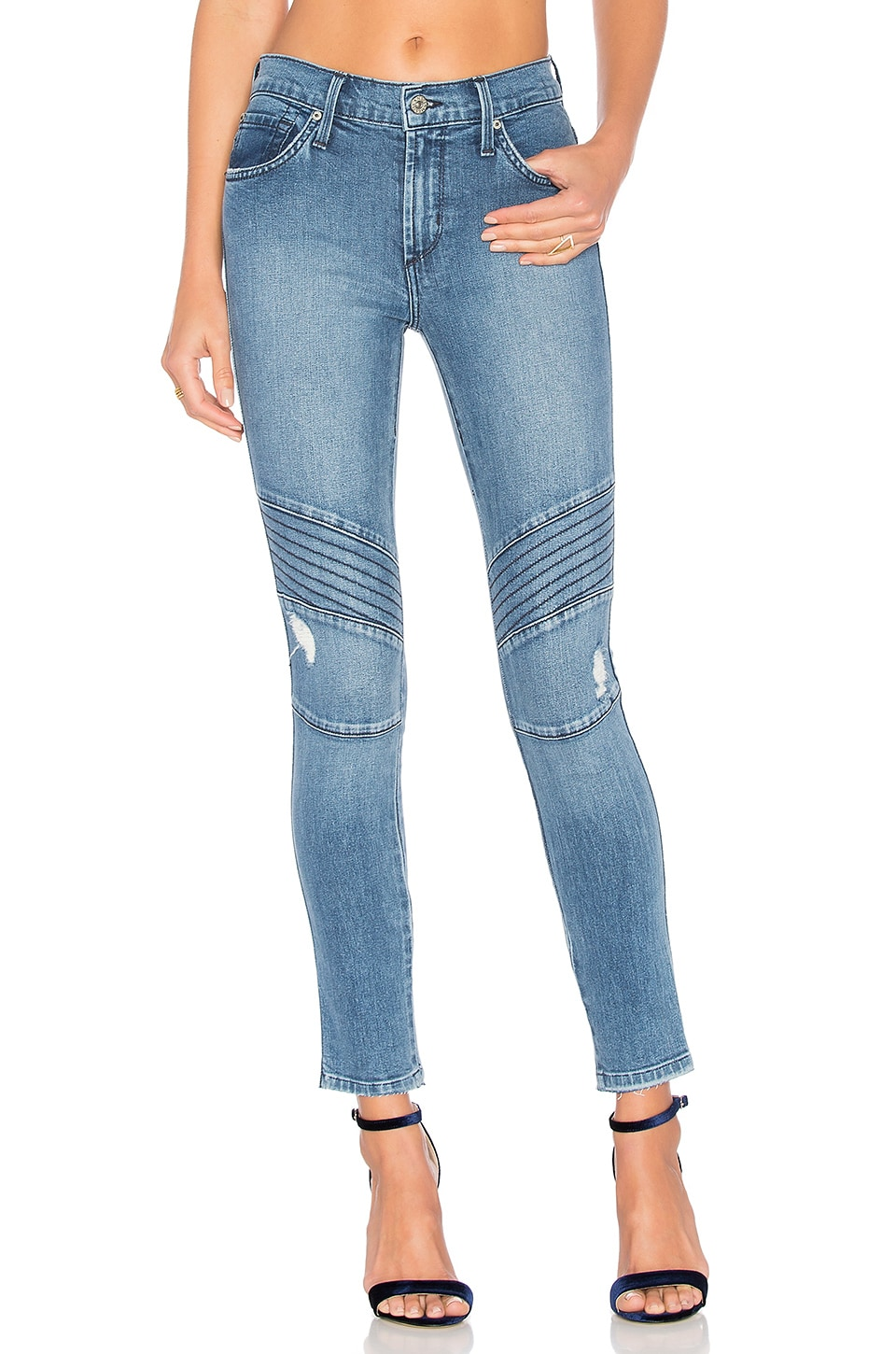 Distressed Ankle Moto by James Jeans