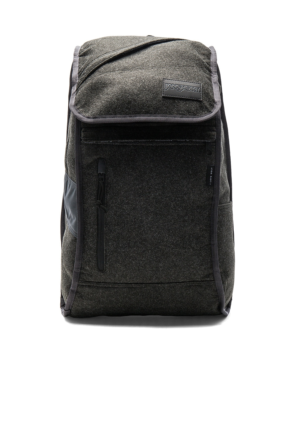 x I Love Ugly Iron Sight Backpack by Jansport