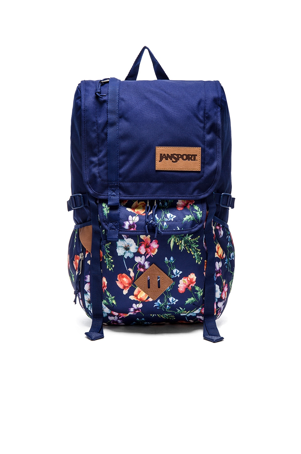 Jansport Hatchet in Multi Navy Mountain Meadow