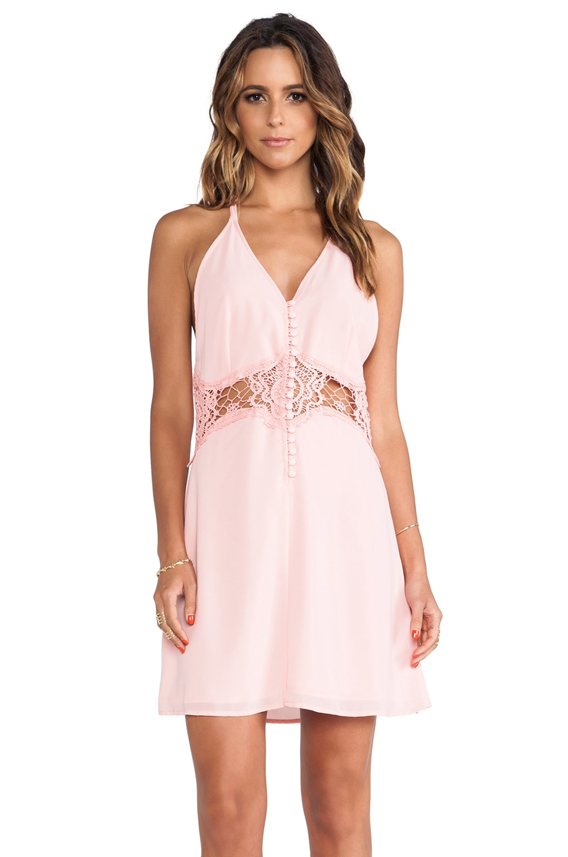 JARLO Siobhan Mini Dress in Pink