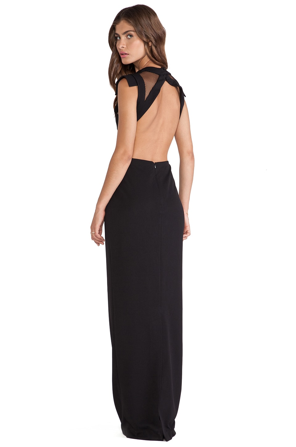 JARLO Marlin Maxi Dress in Black