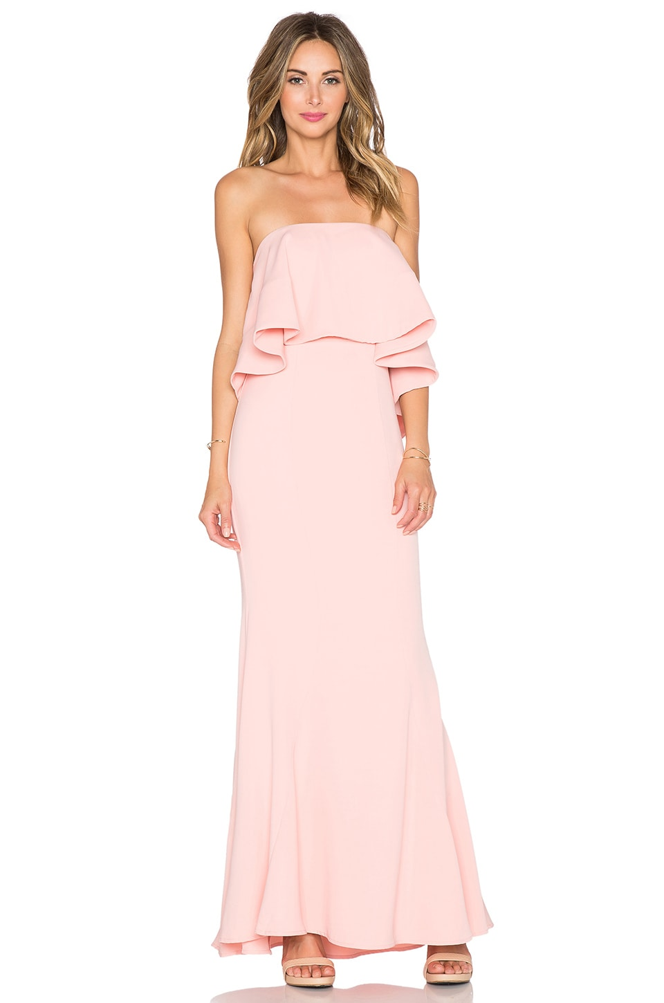 JARLO Lily Maxi Dress in Pink