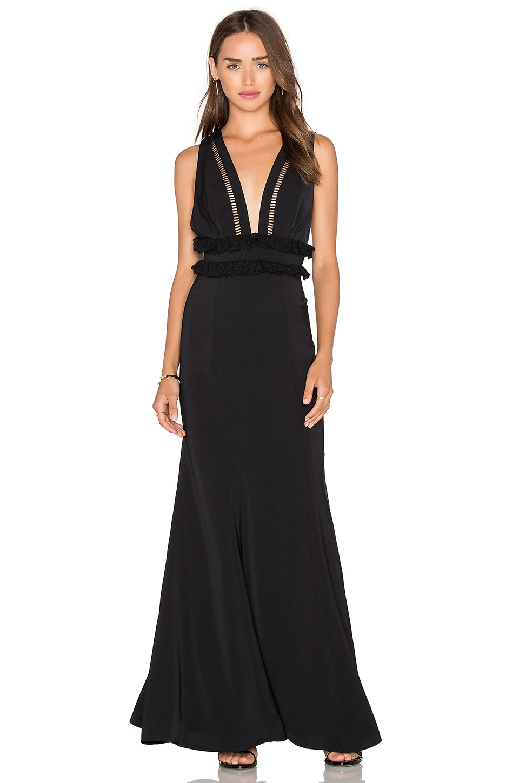 JARLO Chloe Dress in Black