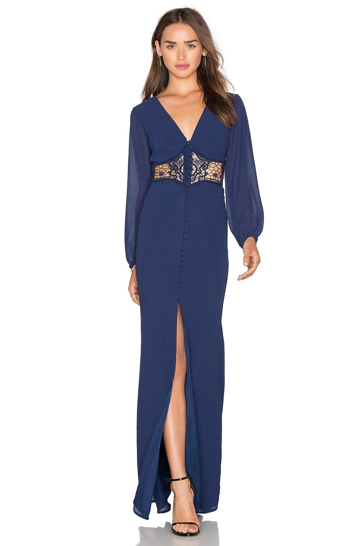 Sadie Dress in Navy Jarlo Free Shipping Footlocker Finishline Y4787m