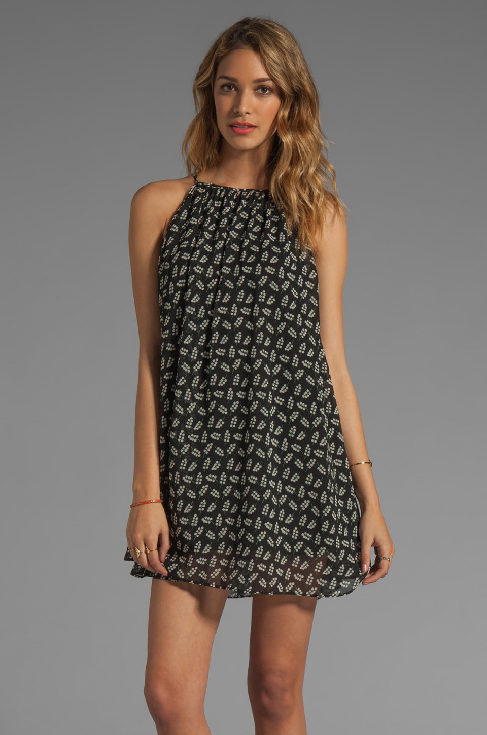 JARLO Taylor Tank Dress in Black