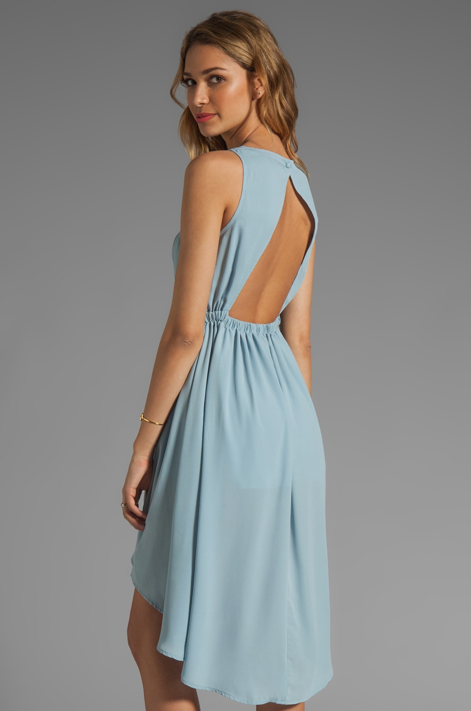 JARLO Allondra Dress in Pale Blue