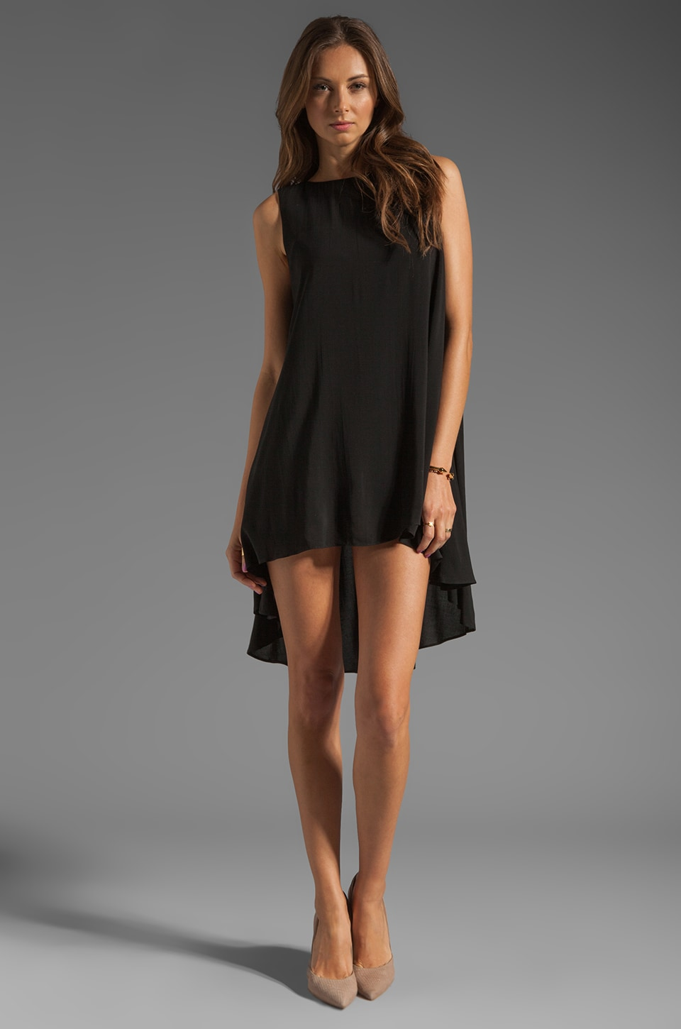 JARLO Leah Dress in Black