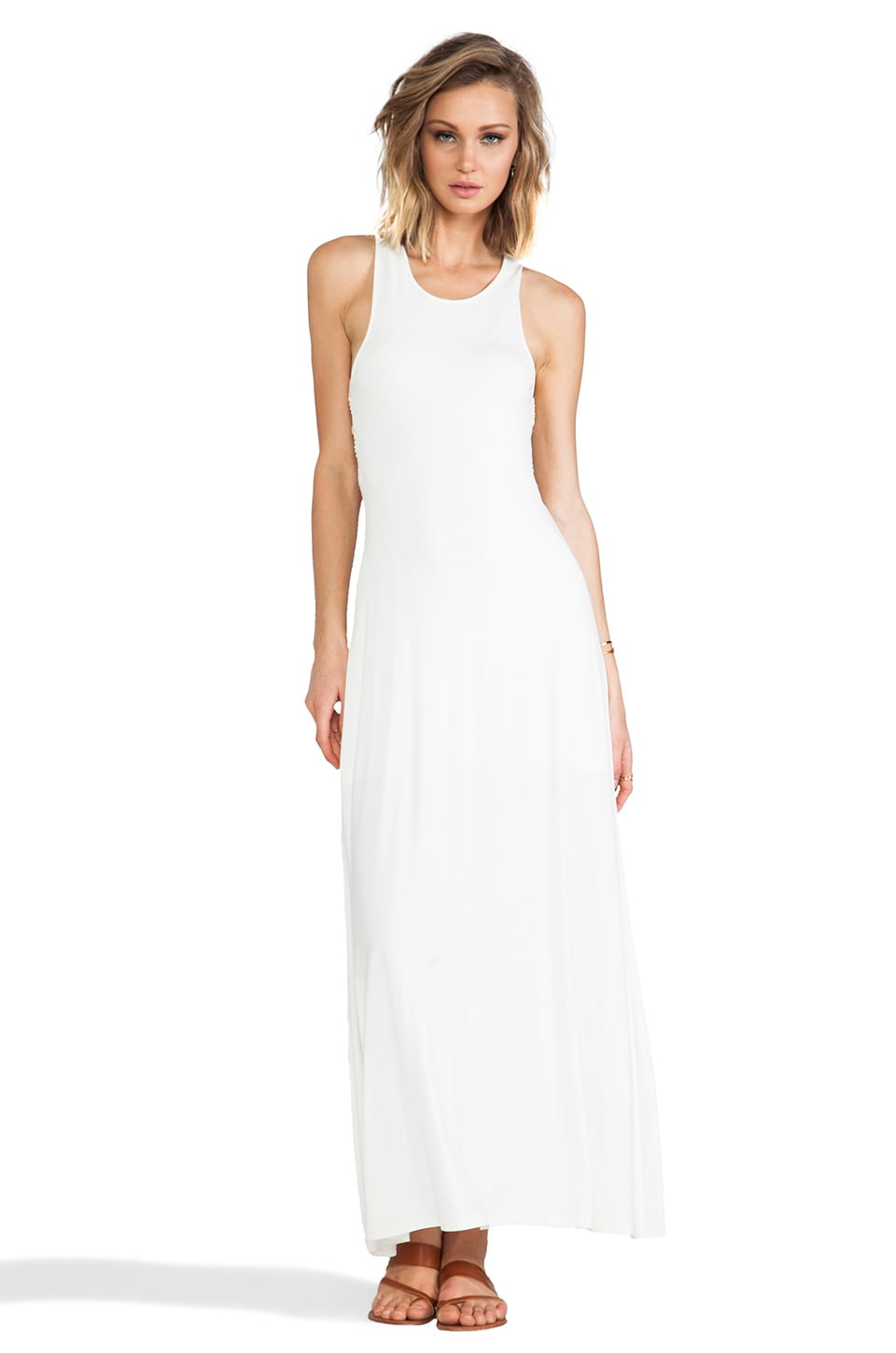 JARLO Maya Dress in Ivory