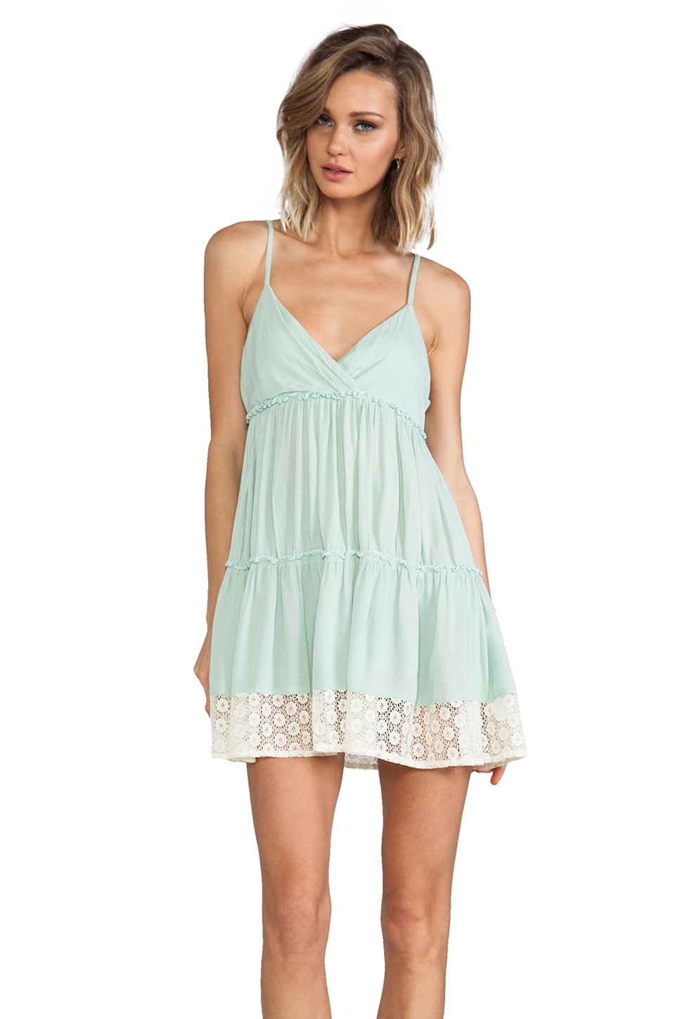 JARLO Orion Dress in Mint