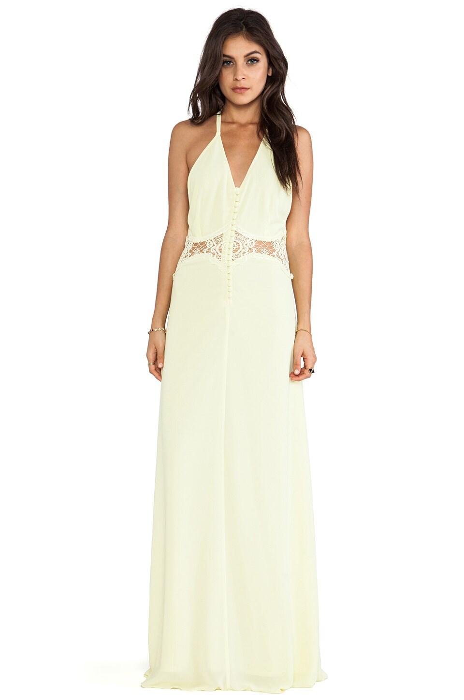 JARLO Siobhan Dress in Lemon