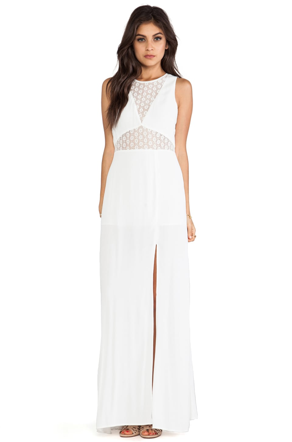 JARLO Noah Dress in Ivory