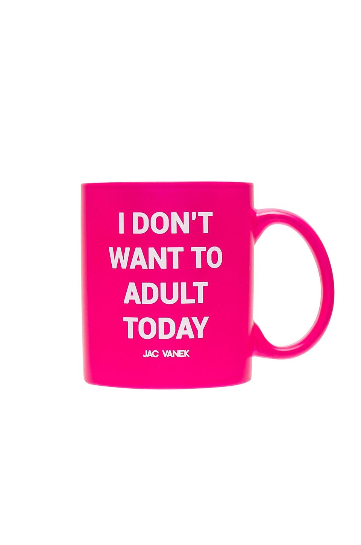 JAC VANEK Adult Mug in Fluorescent Pink