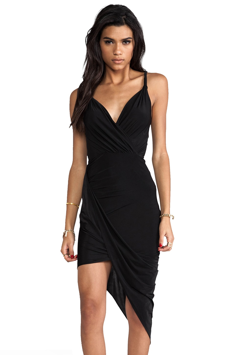 Jay Godfrey Viceroy Dress in Black