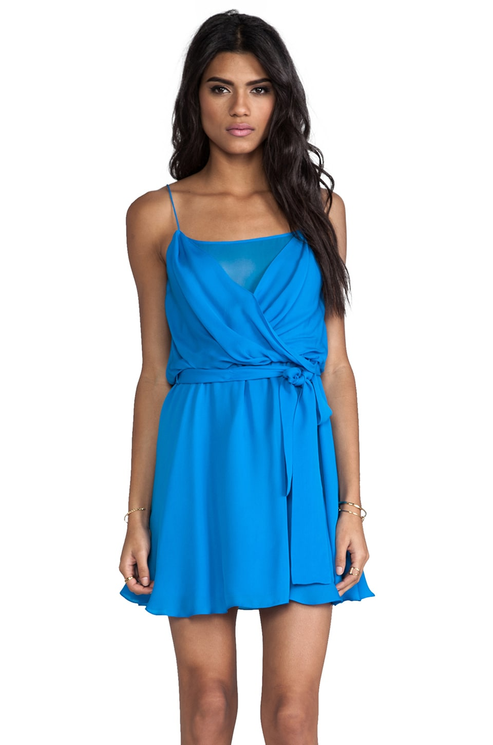 Jay Godfrey Holly Dress in Turq