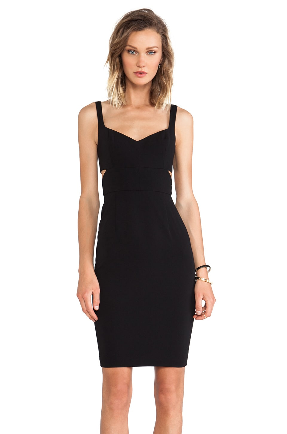 Jay Godfrey Latta Dress in Black