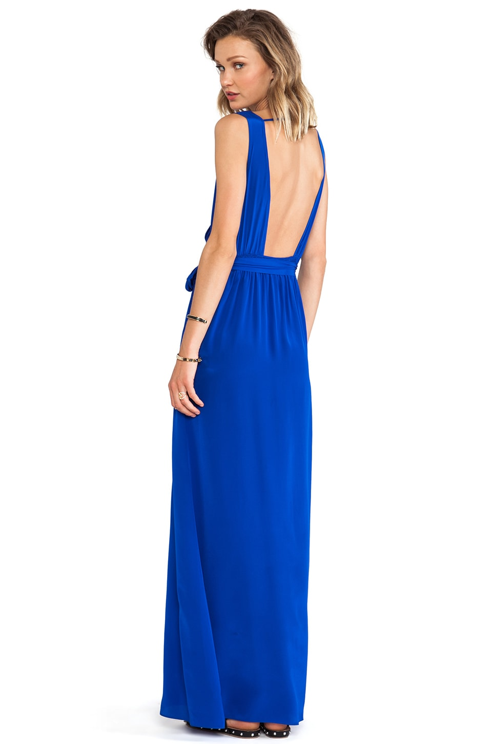 Jay Godfrey Pearce Dress in Cobalt