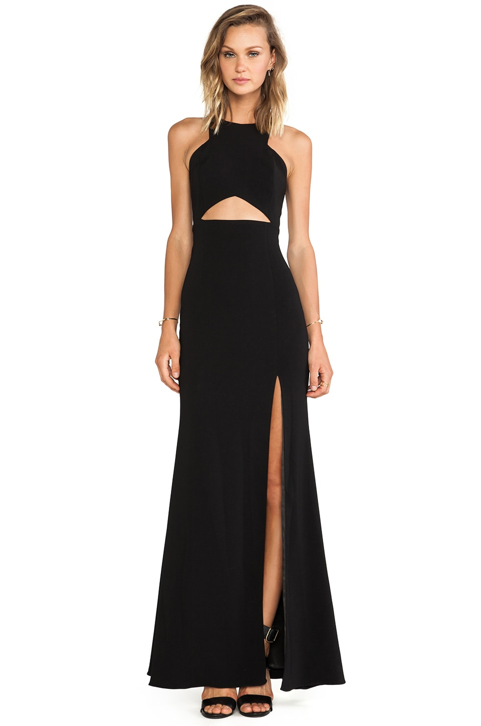 Jay Godfrey Gates Dress in Black