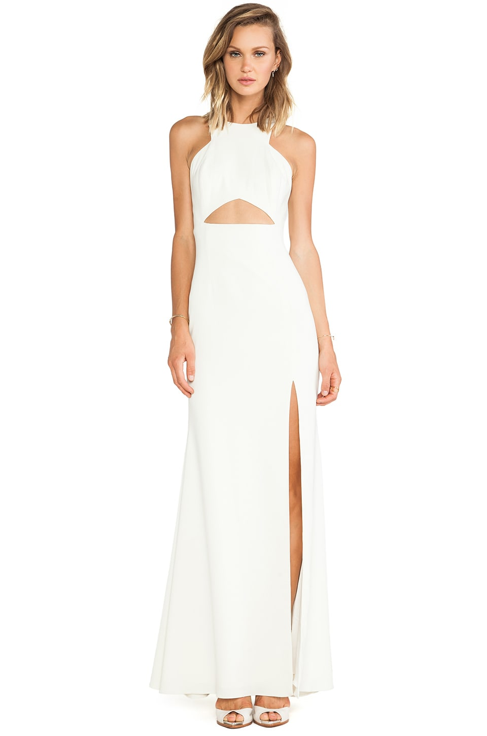 Jay Godfrey Gates Dress in Ivory