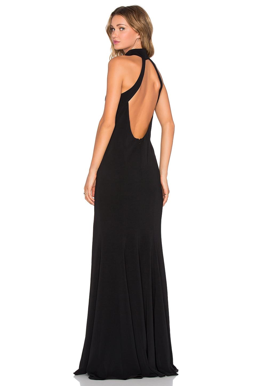 Jay Godfrey Cameo Dress in Black