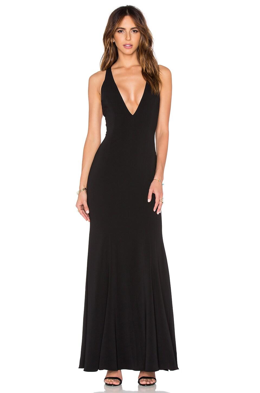 Jay Godfrey Abbotsford Maxi Dress in Black