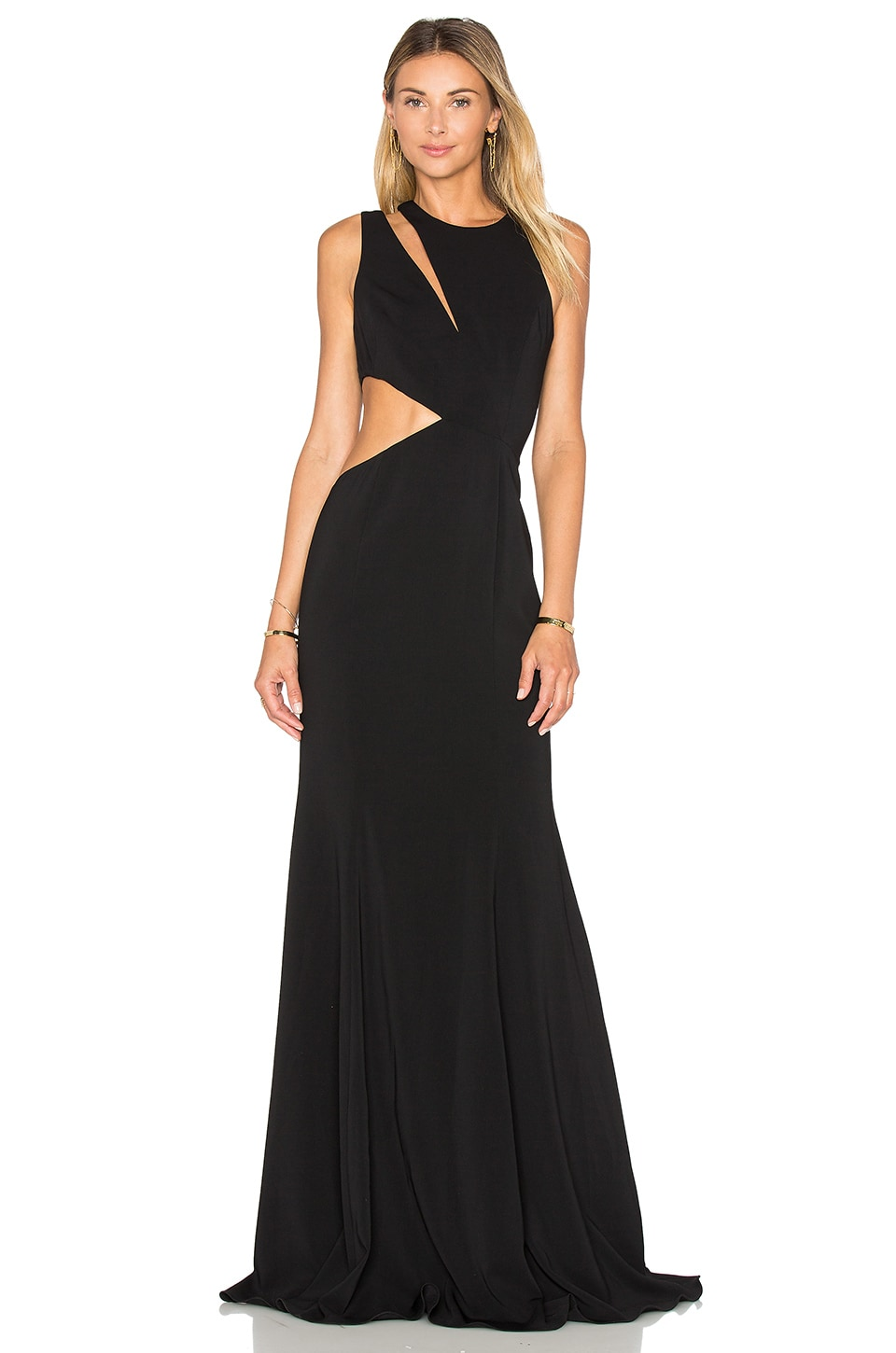 Jay Godfrey Lagos Gown in Black