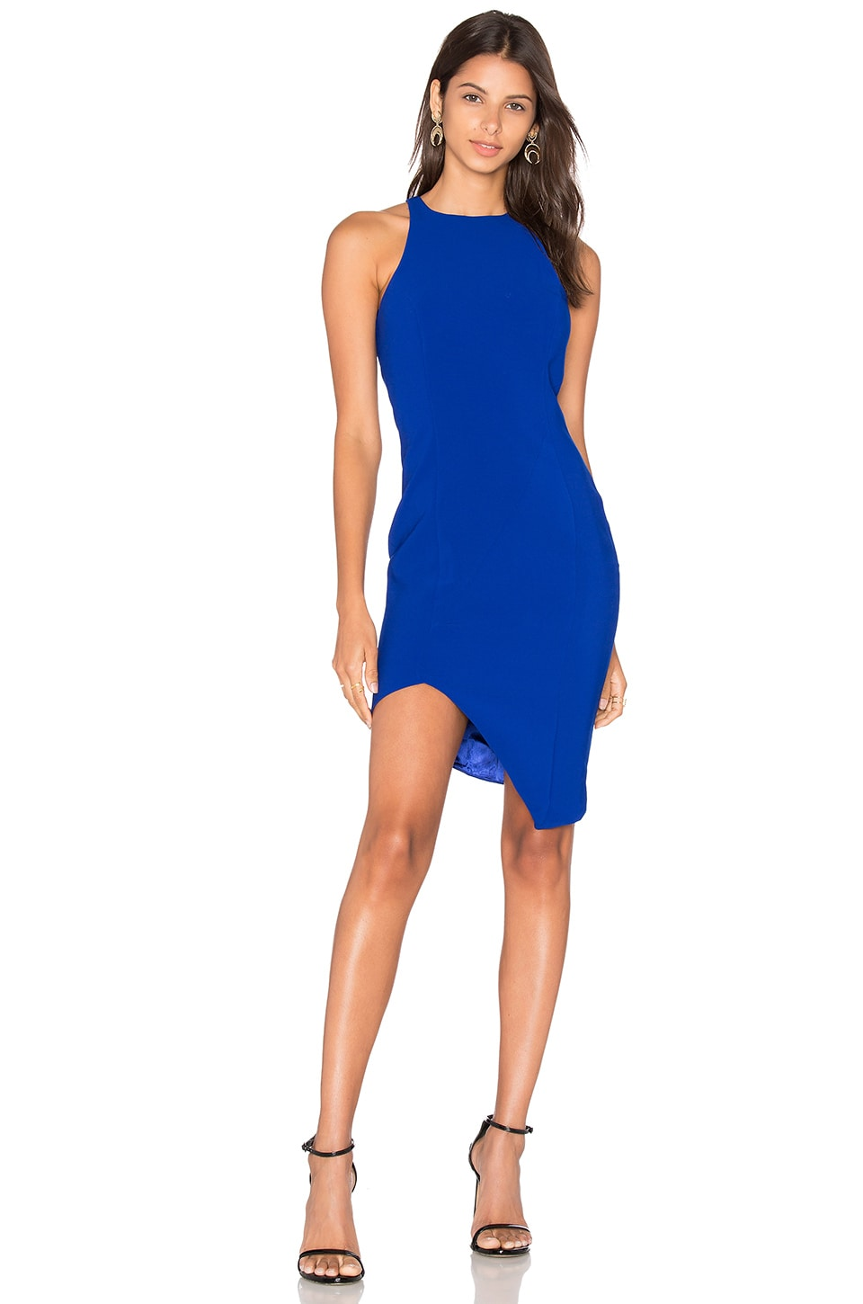 Jay Godfrey Gallagher Dress in Cobalt