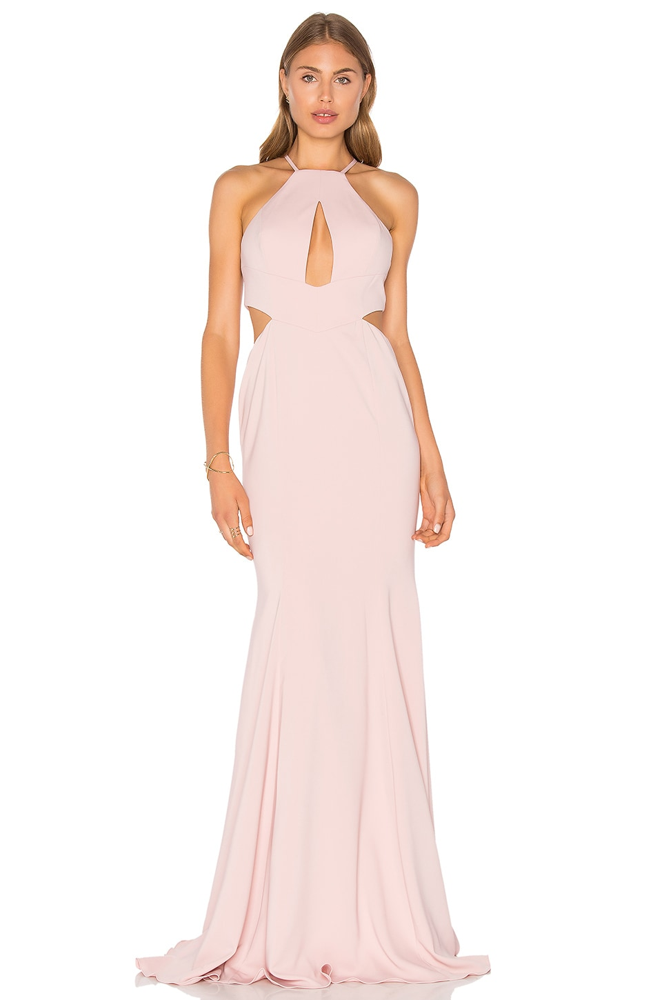 Jay Godfrey Sao Paulo Gown in Blush
