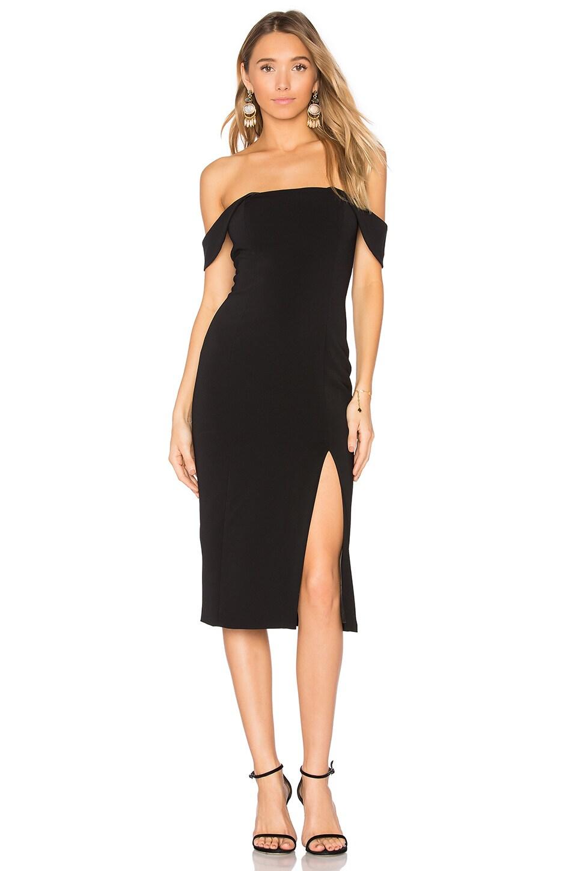 Jay Godfrey Downie Dress in Black