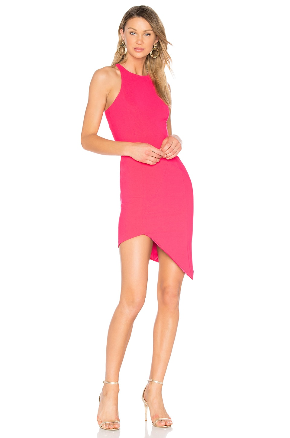 Jay Godfrey Gallagher Dress in Watermelon