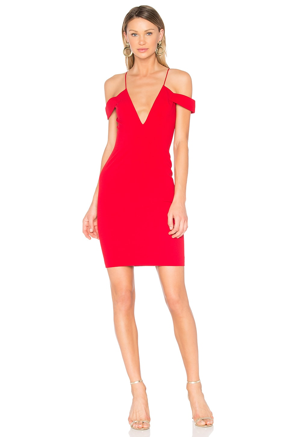 Jay Godfrey Hoy Dress in Red