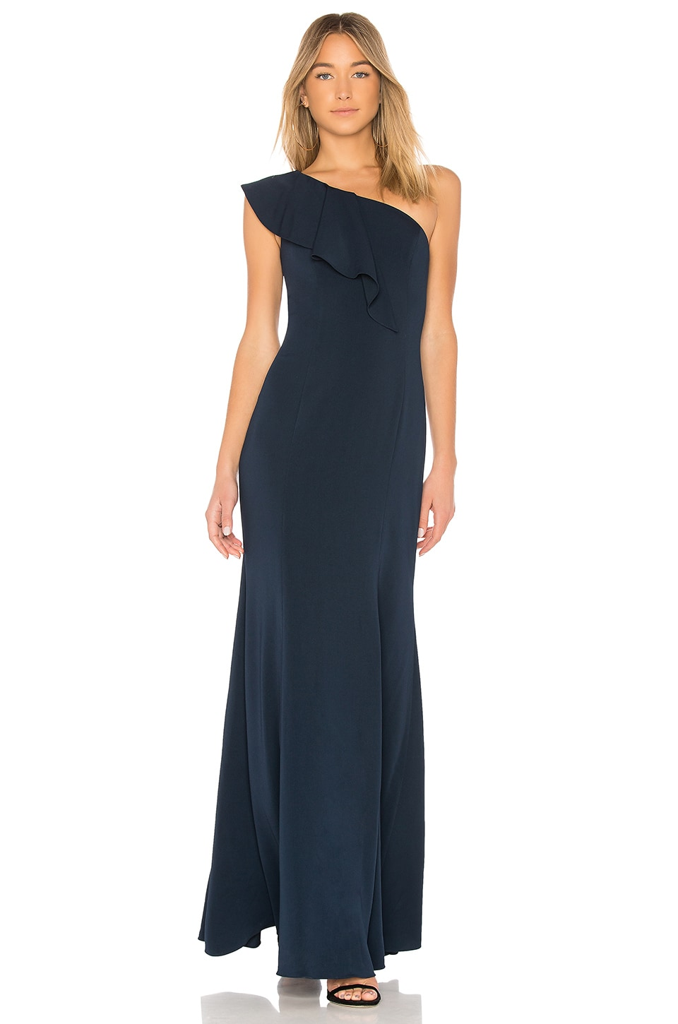 Jay Godfrey Osgood Gown in Navy